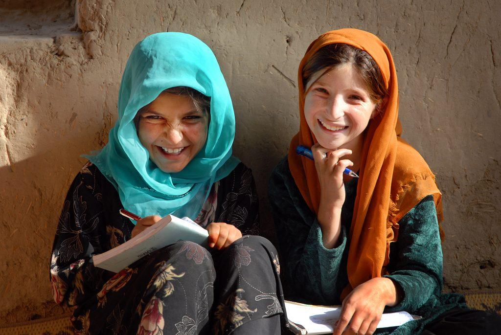 Refugee Girls at an IRC