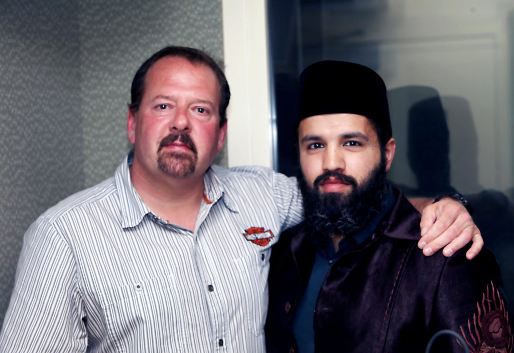 Mosque Shooter Ted Hakey Jr. and mosque leader Zahir Mannan