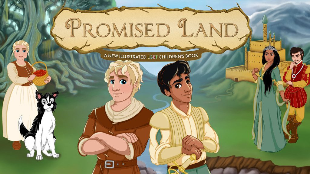 promised land LGBT Childrens book