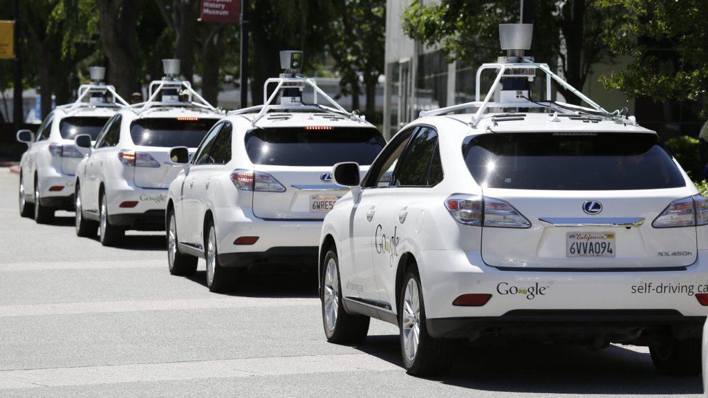 Google self-driving cars.