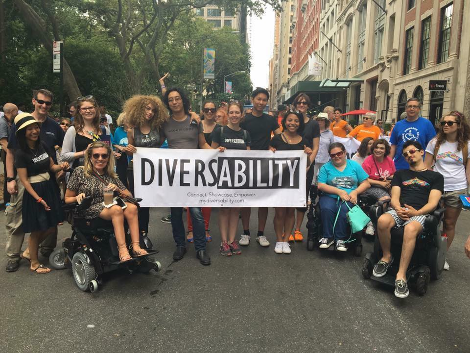 Diversability at Disability Pride in NYC